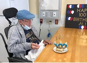 Veteran celebrates 100th birthday