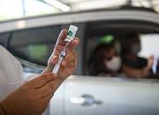 Drive-through flu clinic